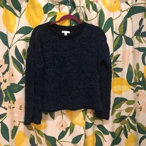 LC Lauren Conrad dark blue sweater